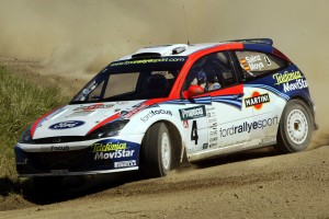Carlos Sainz 2002-  Ford Focus - Action